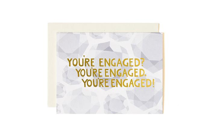 Engagement Cards- You're Engaged
