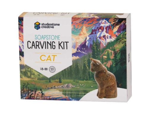 Studiostone Creative Carving Kit- Cat