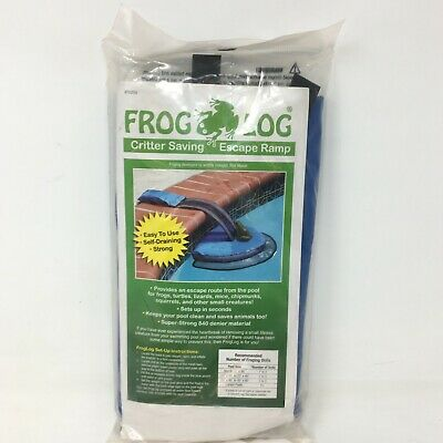 Frog Log Critter Saving Pool Ramp
