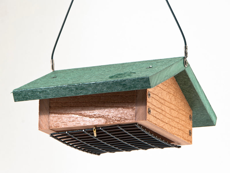 Going Green Upside Down Suet Feeder