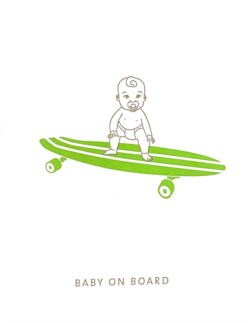 Baby Card- Baby On Board