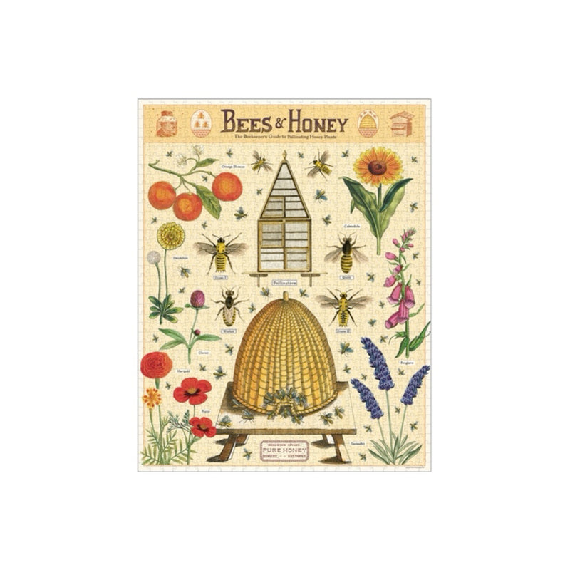 Cavallini 1000 piece Vintage puzzle - Bees & Honey