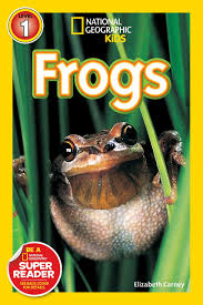 National geographic Kids- Frogs Level 1