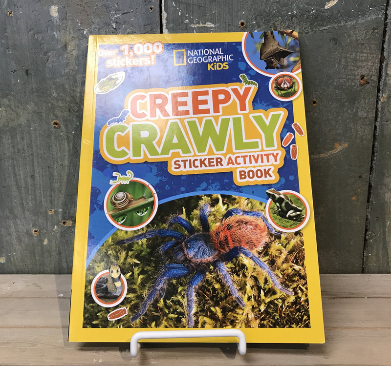 National Geographic Creepy Crawly Sticker Activity Book