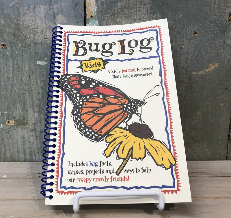 Bug Log Book for Kids