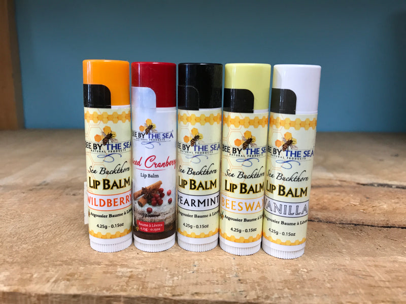 Bee By the Sea Lip Balms