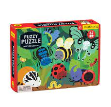 Fuzz Puzzle- Beetles & Bugs 42 Pieces