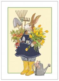 Mother's Day Card- Garden Rabbit