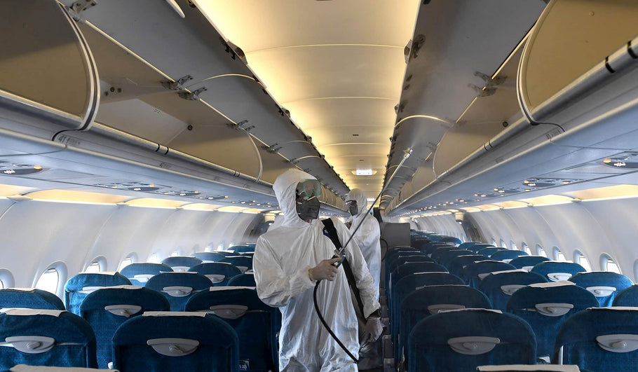 How Airlines Clean Airplanes
