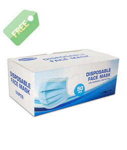 Safety Essentials Kit - Free Box of Disposable Masks Included