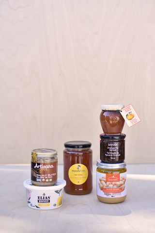 Spreads, Jam & Butters