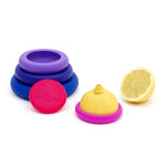 Food Huggers - Bright Berry - Set of 5