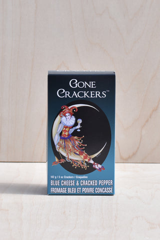 Gone Crackers - Blue Cheese & Cracked Pepper