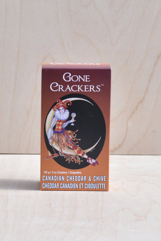 Gone Crackers - Canadian Cheddar and Chive
