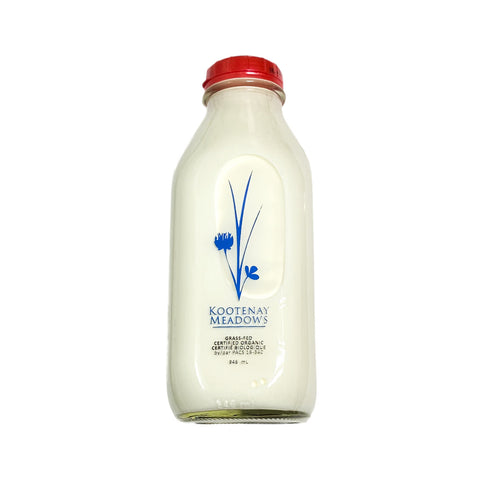 Kootenay Meadows - Organic Homogenized 3.25% (946ml)
