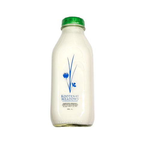 Kootenay Meadows - Organic Table Cream 10% (946ml)