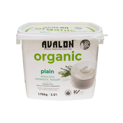 Avalon - Plain Yogurt - Organic 1.75kg