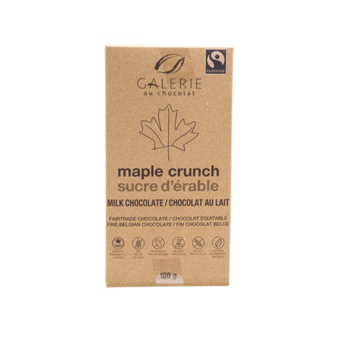 Galerie au Chocolat - Maple Crunch Milk Chocolate