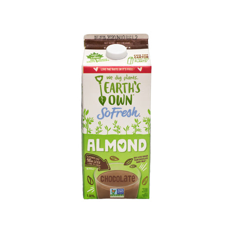 Earth's Own - Chocolate Almond Milk (1.89L)