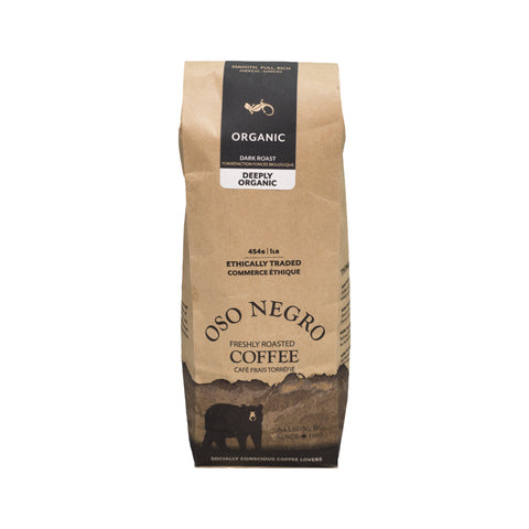 Oso Negro Coffee - Deeply Organic (1lb)