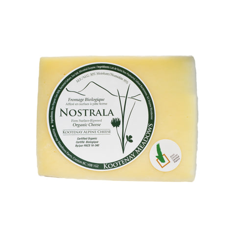 Kootenay Meadows - Nostrala Cheese