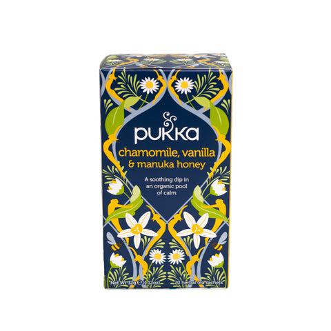 Pukka Tea - Chamomile, Vanilla & Manuka Honey