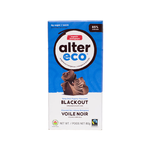 Alter Eco - Dark Chocolate Blackout 85%