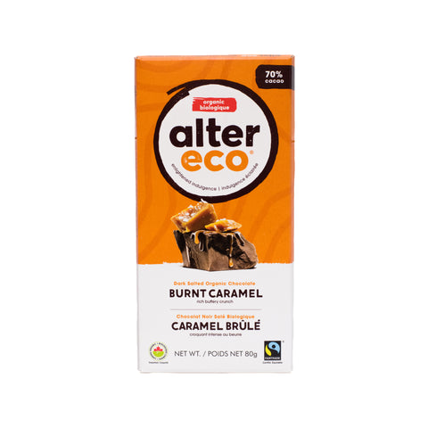 Alter Eco -  Dark Chocolate Burnt Caramel 70%