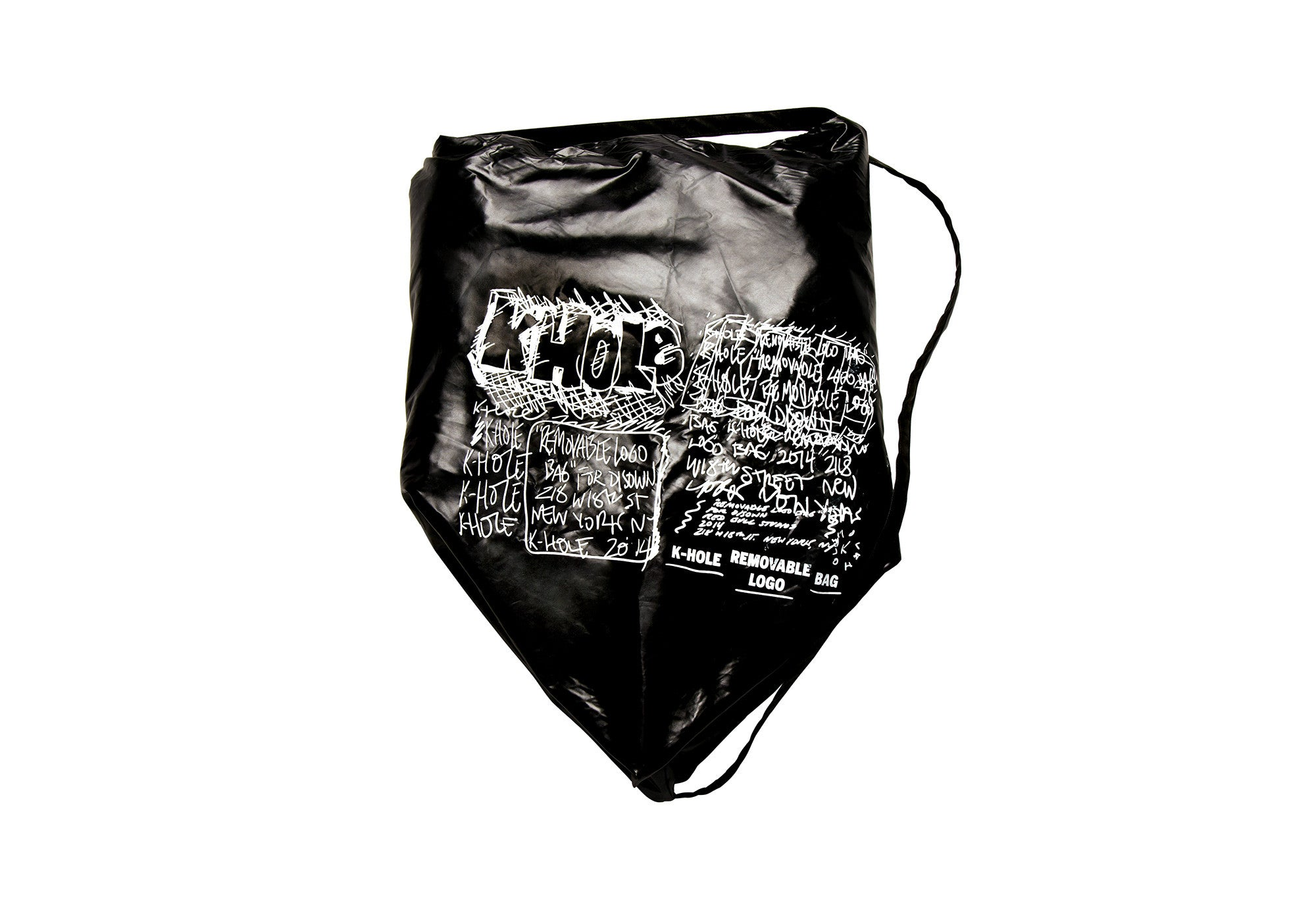 K-HOLE Removable Logo Bag