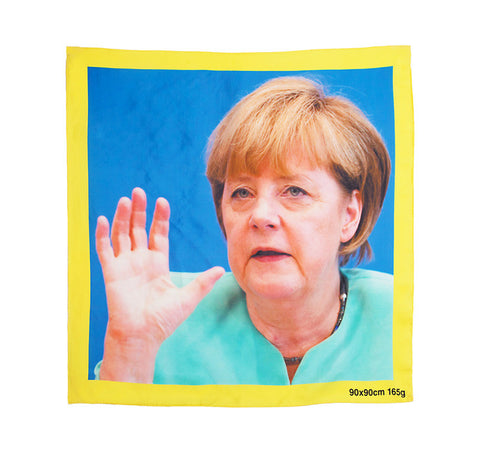 Angela Merkel and Condoleezza Rice Scarves