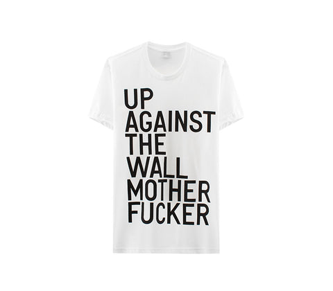 Up Against the Wall Motherfucker Tee