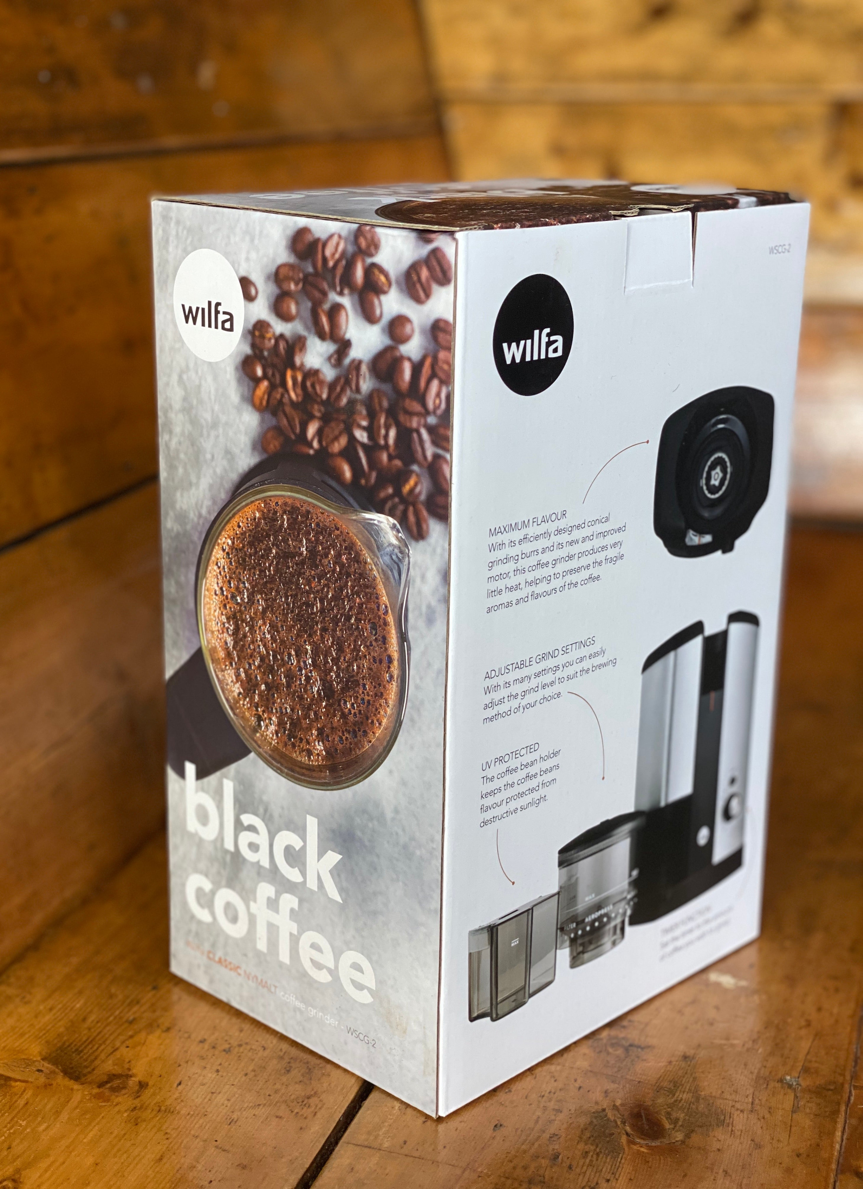 Wilfa Svart WSCG-2 - Automatic Grinder - Shoe Lane Coffee