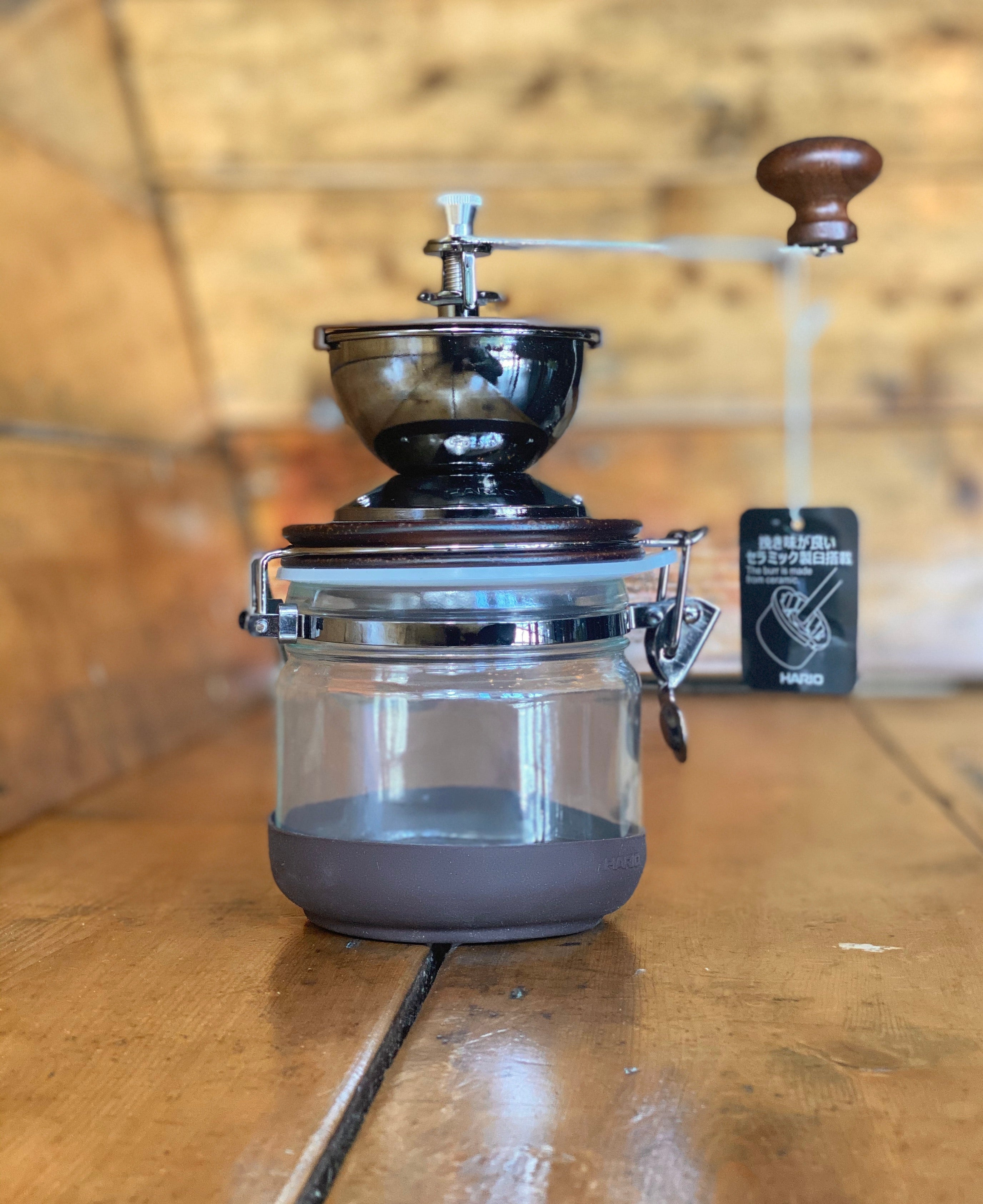 Hario Canister Coffee Mill - Shoe Lane Coffee