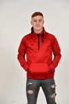1889 RED LEISURE QUARTER ZIP