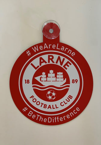 LFC Crest Window Hanger