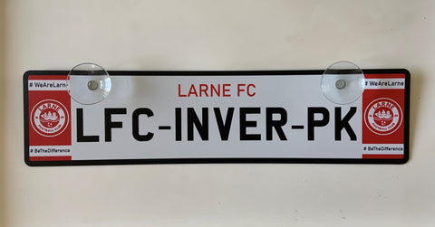 LFC Inver Park Street Sign Window Hanger