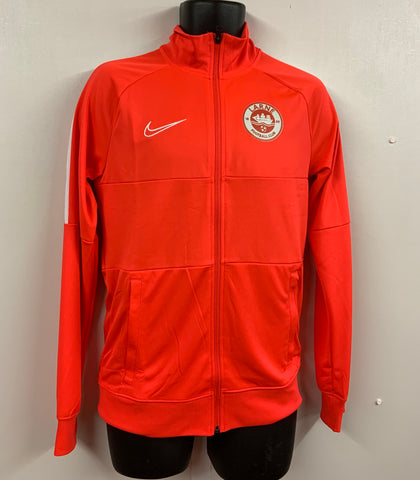 NIKE ACADEMY FULL ZIP TRACK TOP - ANTHRACITE - FINAL REDUCTIONS!