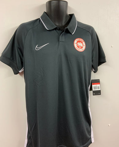NIKE ACADEMY POLY POLO SHIRT - GREY - FINAL REDUCTIONS!