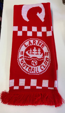 SCARF - Larne FC supporters scarf with club crest