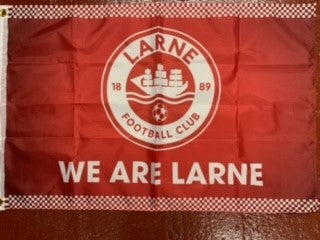 We Are Larne Flag