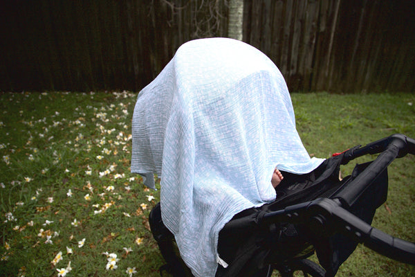 Covering a pram may be the lesser of two evils to some parents