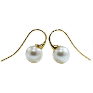 'Franklin5' Australian South sea pearl earrings