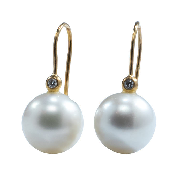 'Dara10' Australian South sea pearl earrings