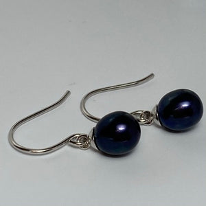 'Jane' Hook Style Freshwater Pearl Earrings