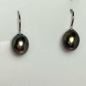 "'Anne"" Hook Freshwater pearl earrings"