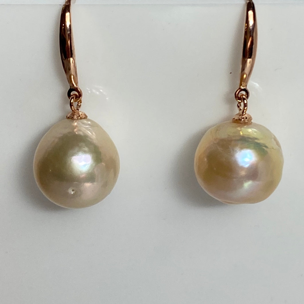 'Sienna' Freshwater Pearl Earrings