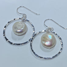 Load image into Gallery viewer, 'Pina' Hook Style Freshwater Pearl Earrings