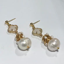 Load image into Gallery viewer, 'Aubrey' Freshwater Pearl Earrings