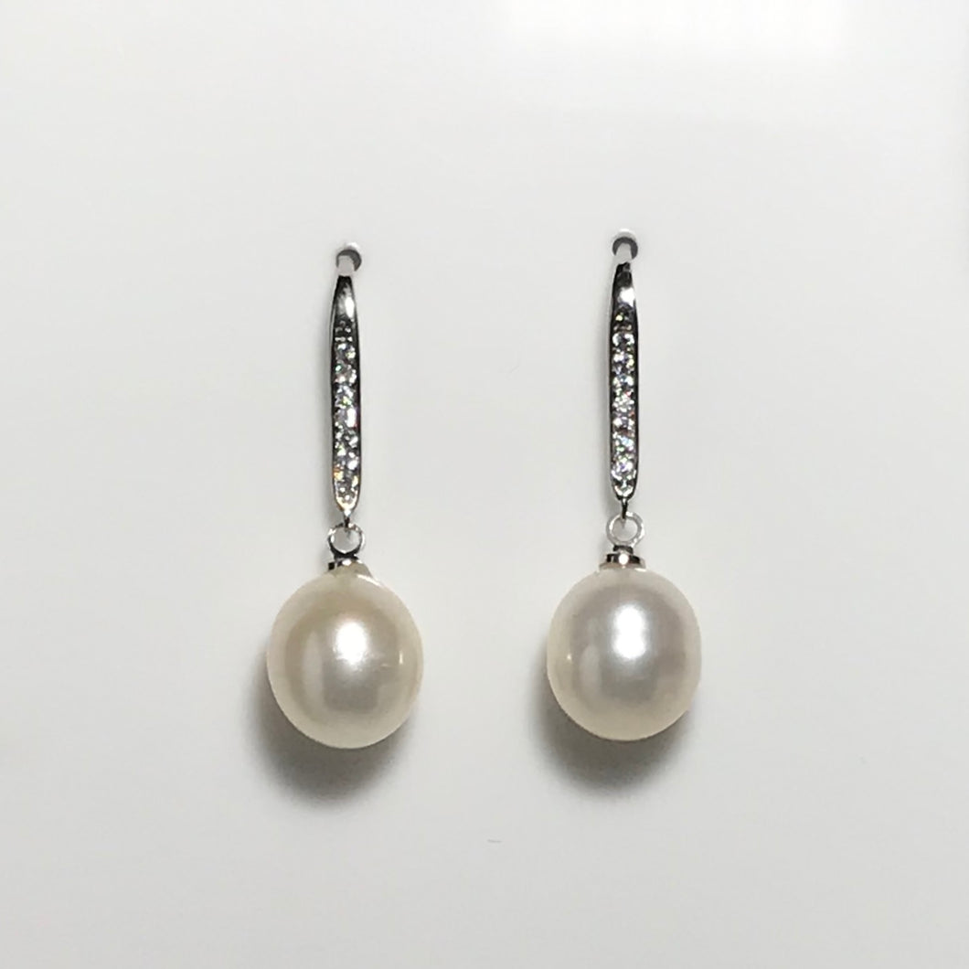 'Cecilia' Freshwater Pearl Earrings