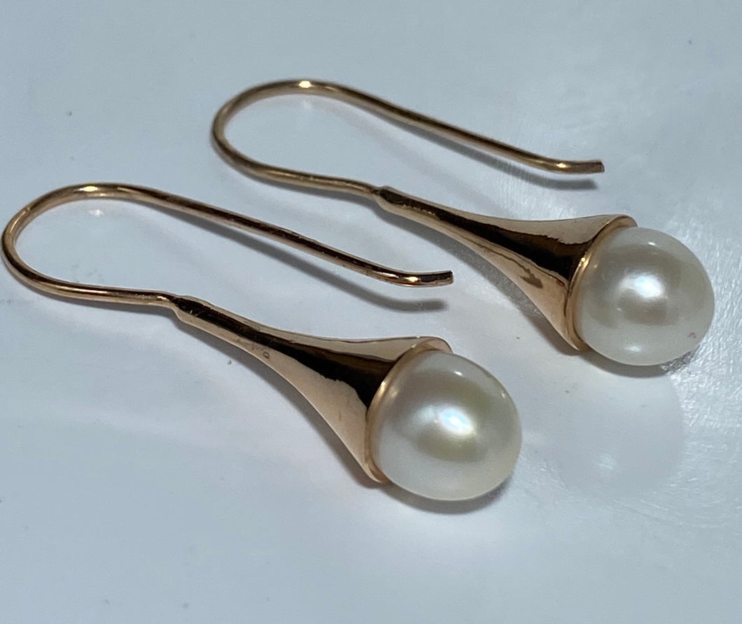 'Roxie' Freshwater Pearl Earrings